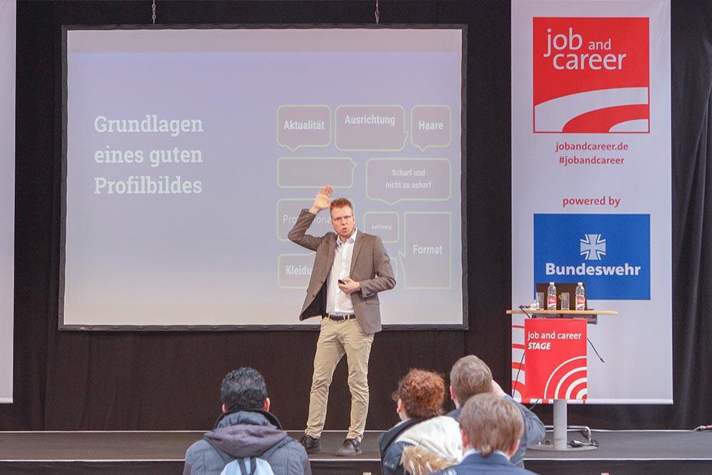 Jan-Timo Schaube Vorträge auf Messen